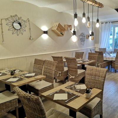 Restaurant l'Auberge de l'Helvie, chez Coco et Ricou